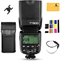 Godox TT600 Flash Speedlite Master / Slave with Built-in 2.4G Wireless Transmission for Canon Nikon Pentax Olympus Fujifilm Panasonic (TT600)