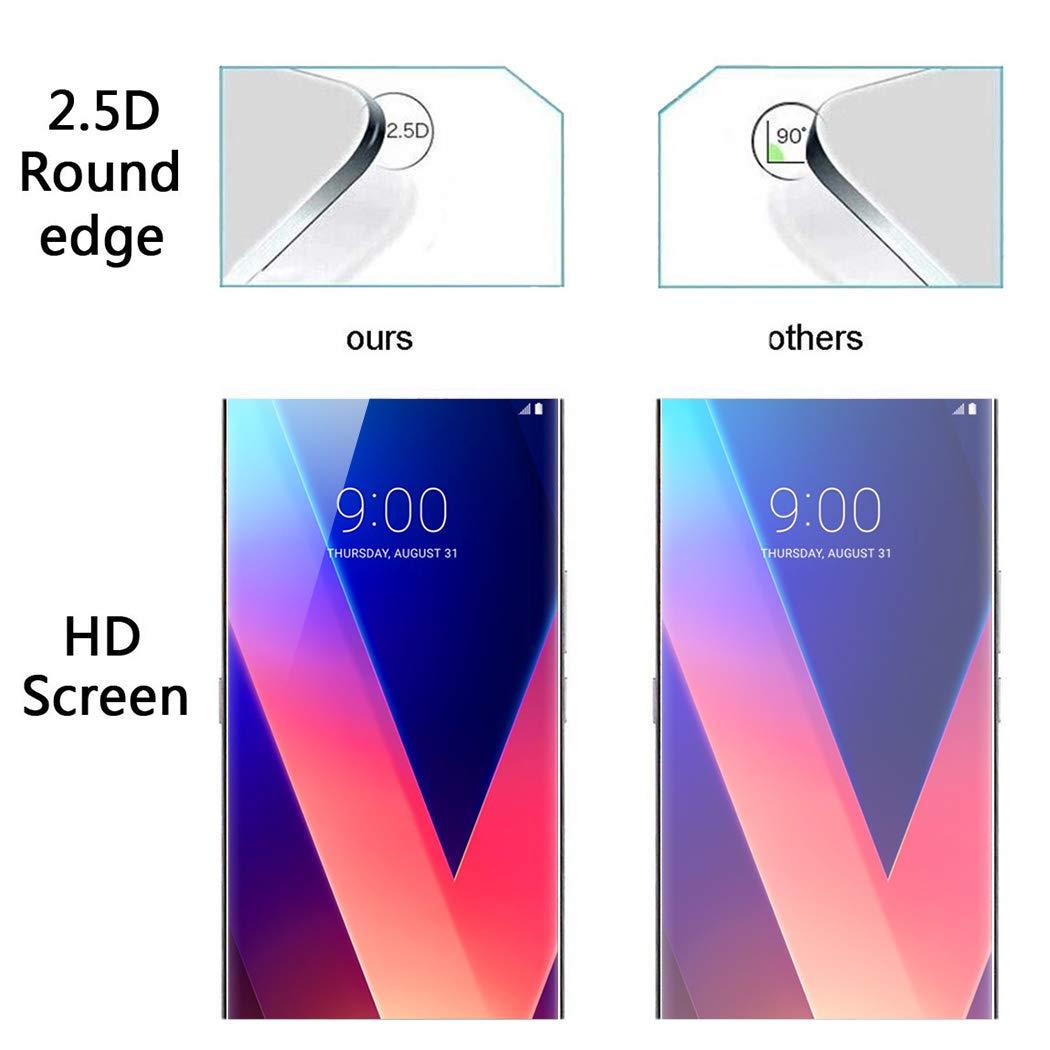 2-Pack Anti-Traces de Doigts et Anti-Rayures X-Dision Protecteur d/écran Compatible avec Sony Xperia XZ1 Compact, Film de Protection de qualit/é sup/érieure pour la s/érie Double d/éfense 2.5D,