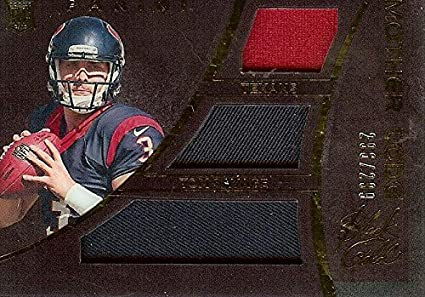 Football NFL 2014 Black Mother Lode Rookie Triple Jersey  18 Tom Savage RC  Rookie MEM d6bf32b4a