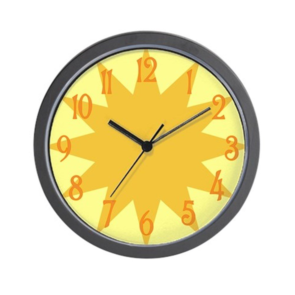 Amazon.com: CafePress - Sunbeam Wall Clock - Unique Decorative 10 ...