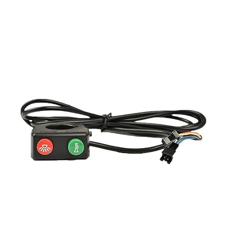 Wuxing DK11 Alta Qualità Corno Interruttore E Interruttore Del Filo  Elettrico E Monopattino Elettrico Per Bicicletta