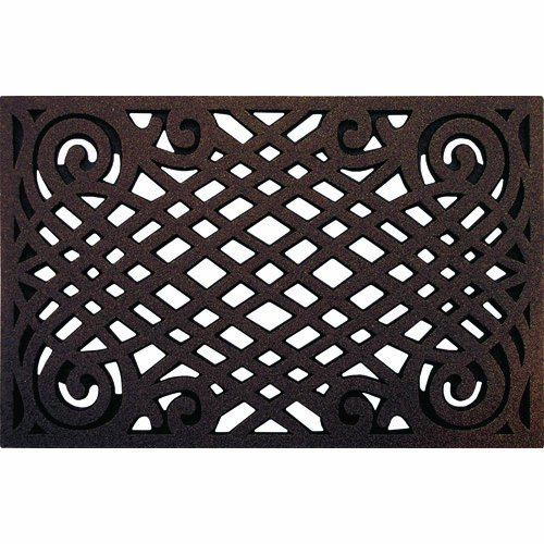 Cleanscrape Celtic Lattice Door Mat 22 Inch By 34 Inch