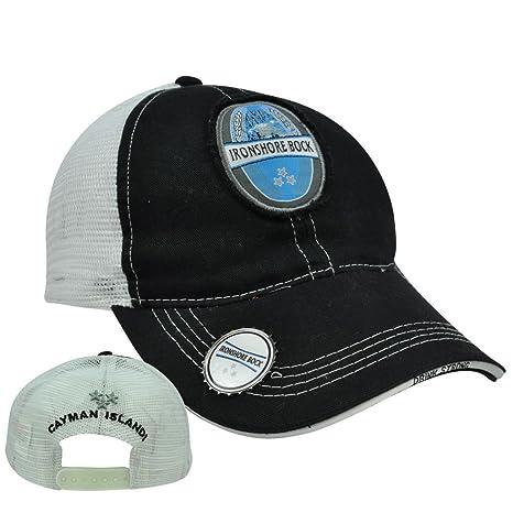 Islas Caimán Ironshore Bock cerveza sombrero gorra de malla gorra ...
