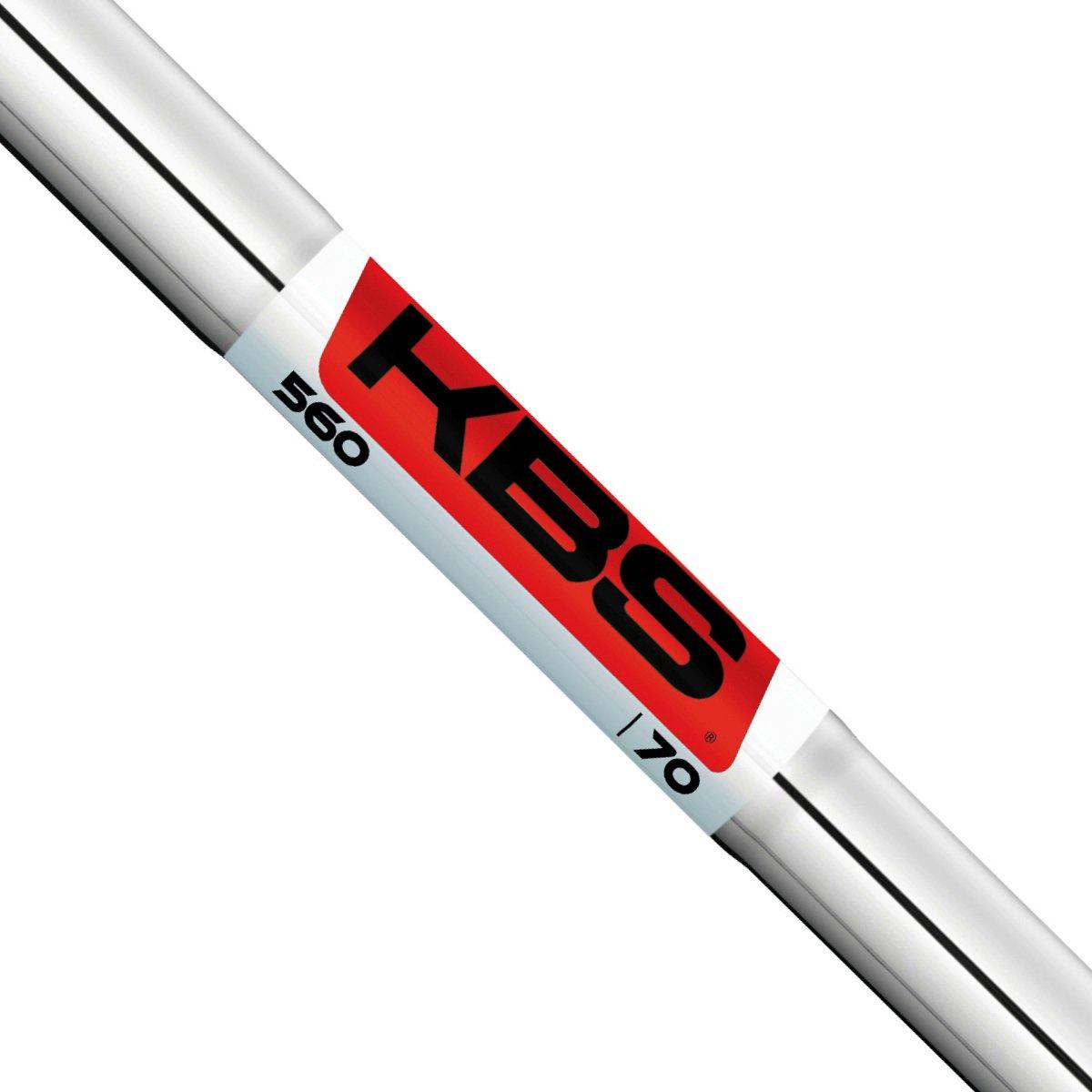 KBS 560シリーズIronシャフト – .355テーパ先端 – 7シャフトセット4-pw – Regular Flex B0759Q748R