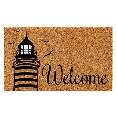 Lighthouse Door Mat (Home & More 102491729 Lighthouse Welcome Doormat)