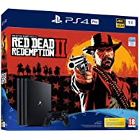 PS4 Pro 1 To G noir + Red Dead Redemption 2 - Standard Edition