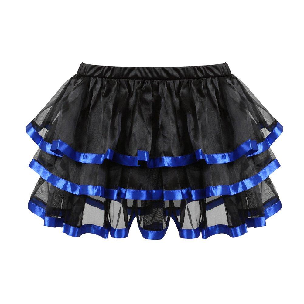 40965830c174 frawirshau Womens Steampunk Lace Black Skirts Vintage Satin High Low Corset  Skirt 7056Tutu ...