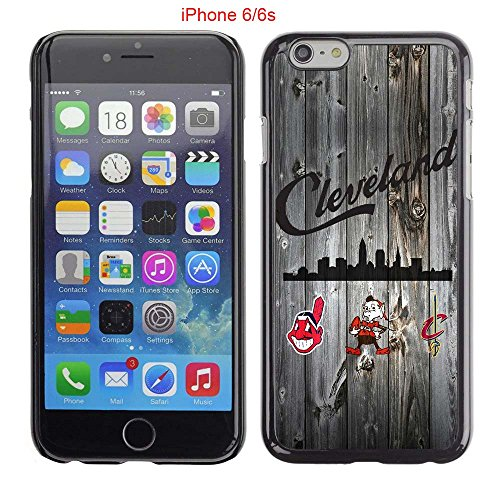 iPhone 6 Case, iPhone 6S Cases, Cleveland Cavs Champions of Ohio States 35 Drop Protection Never Fade Anti Slip Scratchproof Black Hard Plastic - Gold Rose Champion