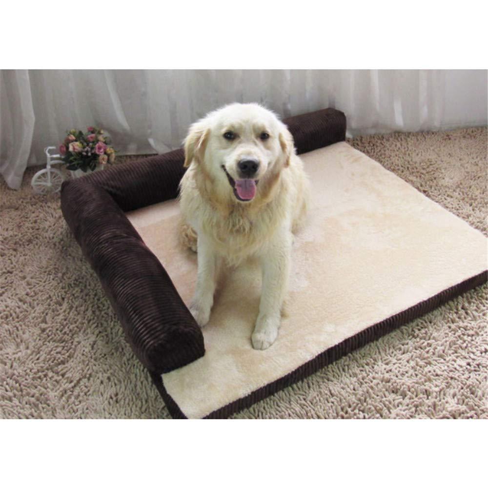 Wuwenw Cama Grande para Perros De Lujo Sofá Cama para Perros Perro Gato Cojín para Perros Grandes Nido Lavable Gato Litter   Cachorro Mat Casa De Mascotas Kennel, XXL