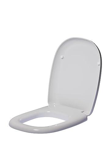 Sedile Tesi Ideal Standard Bianco Europa.Ideal Standard T663001 Sedile Avvolgente Collezione Tesi Classic Resina Bianco