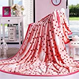 Coral Velvet Blanket flannel Quilt Sheets Napping Throw Snuggle Reduce Anxiety Help Autism Bed Couch Cozy Warm Smooth Heavy Wedding Birthday Christmas Thanksgiving Gift,Full150×200cm