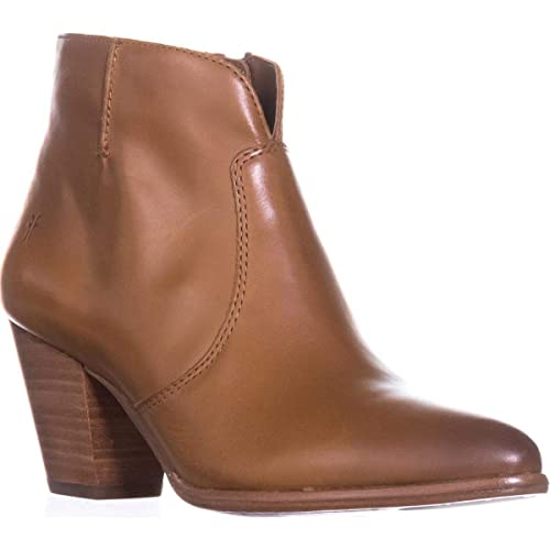 5645c9668ec Frye Womens Jennifer Bootie Leather Pointed Toe Ankle Fashion Boots