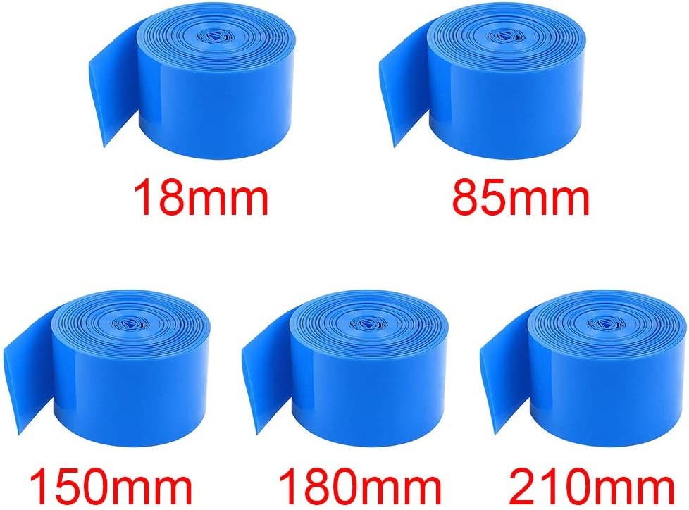 Anna822 Heat Shrink Tube DIY Insulation Dustproof Protective Accessories Repair Battery Wrap Film Electrician Home Anti Corrosion PVC Cable Sleeve