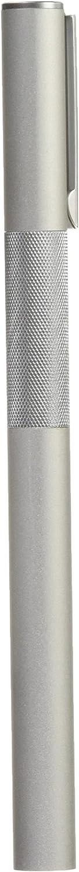 MUJI Aluminum Body Fountain Pen with 2 Refill Ink Cartridge by Muji Fine Nib