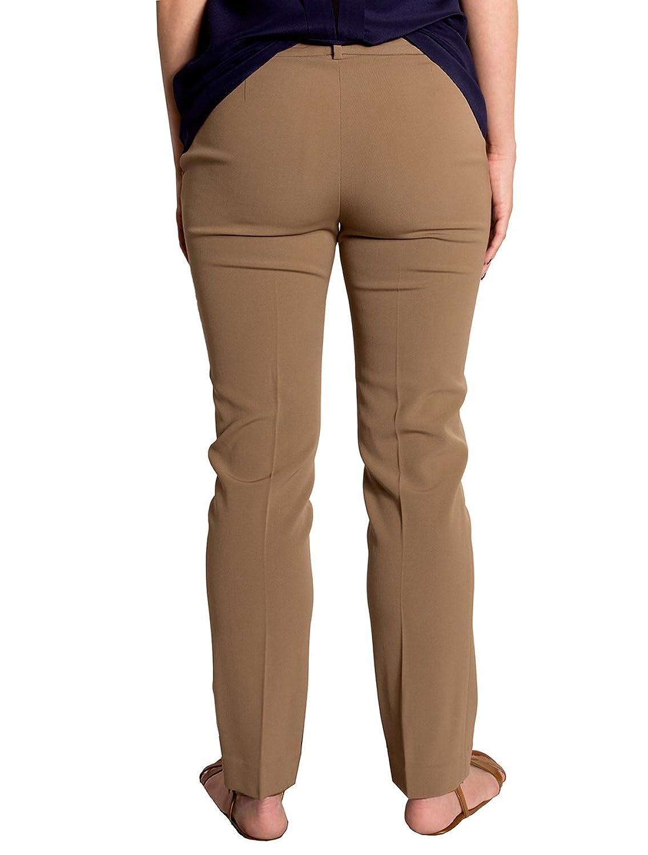 Lauren Ralph Lauren Petite Suede-Trim Wool Skinny Pants, (2P)