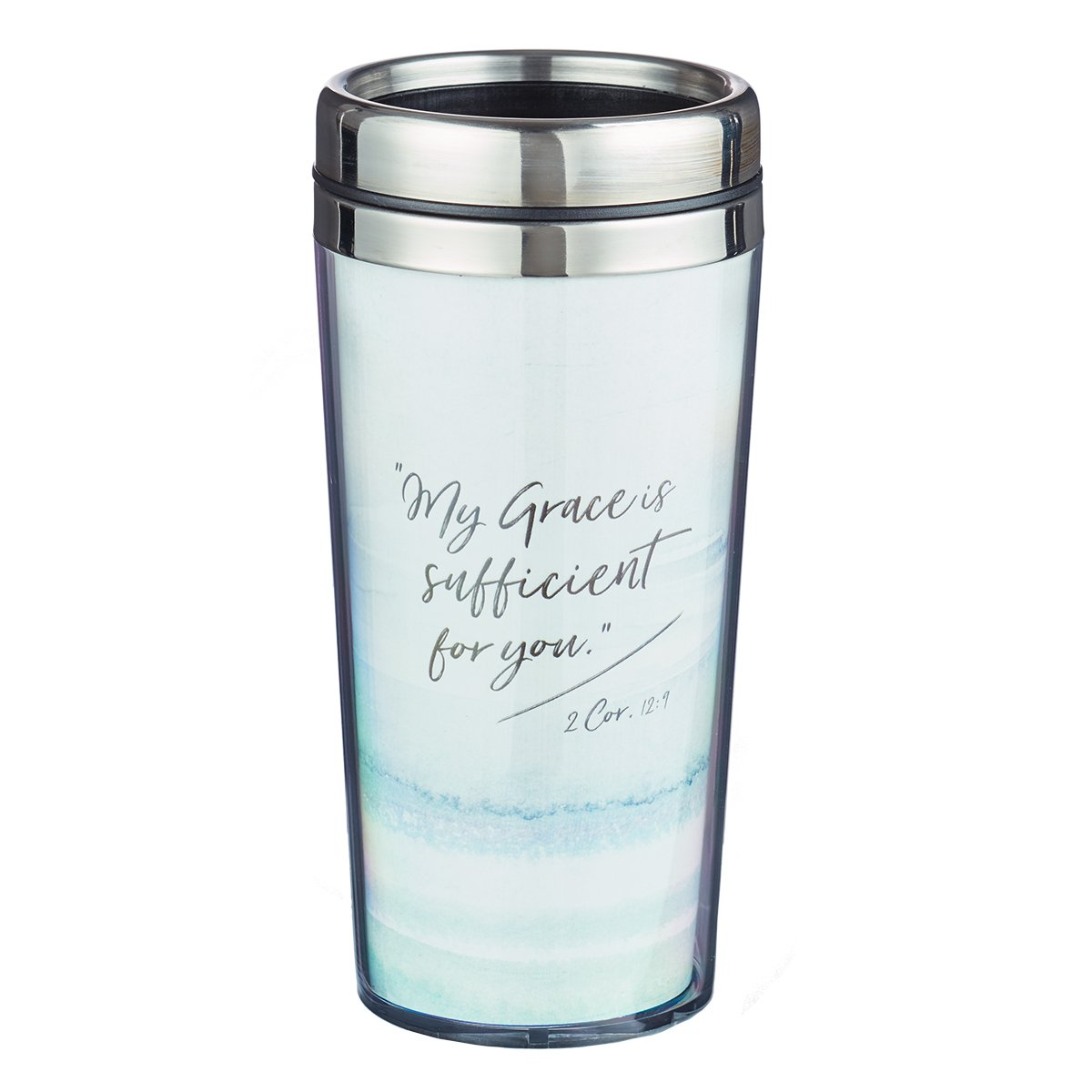 Coffee Travel Mug: My Grace Is Sufficient - 2 Corinthians 12:9