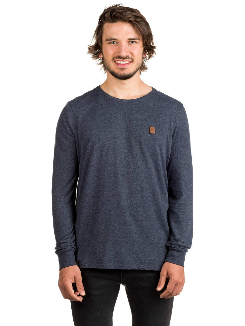 Longsleeve Men Naketano Italienischer Hengst Langen V T-Shirt LS:  Amazon.co.uk: Clothing