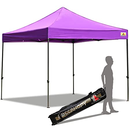 ABCCANOPY 30 Colors Pop up Canopy Folding Heavy Duty Commercial Instant Canopy,Bonus Carrying Bag,Purple