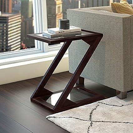 Etonnant Urban Ladder Zeta Side Table (Mahogany)