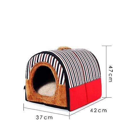 JIAQING Caseta para Mascotas Extraíble Y Lavable Cuatro Estaciones Universal Golden Retriever Pequeño Perro Mediano Mascota