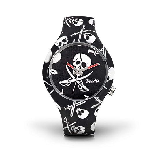 Watch Reloj Calavera Skull MoodAmazon Doodle Unisex esRelojes QdxBWoeErC