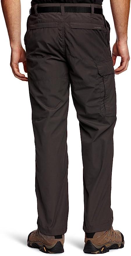 Hombre Regatta Professional Original Action Water Repellent Multi Zip Pocket Trousers Pantalones
