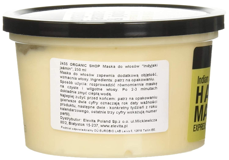 Organic Shop Jazmín de India Mascarilla Volumen Express - 250 ml: Amazon.es: Belleza