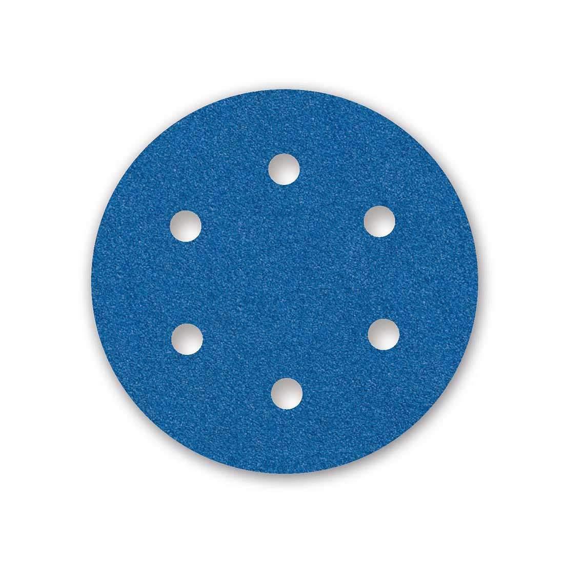25 Dischi abrasivi velcrati MENZER per levigatrice roto orbitale /Ø 150 mm Grana 80-6 fori