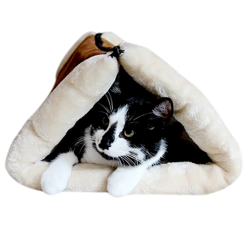 Coco*store 2 in 1 Tube Cat Mat and Bed Winter Soft Cat Mat 35*21 Inches