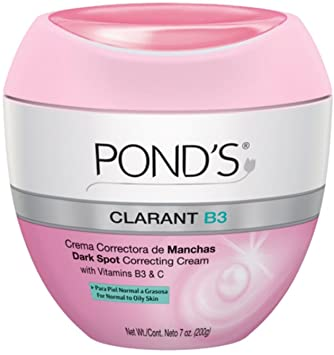 Ponds Clarant B3 Anti-Dark Spot Correcting Cream Normal To Oily Skin 7oz (Pack