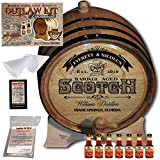 Personalized Outlaw Kit (Blended Scotch Whiskey) ''MADE BY'' American Oak Barrel - Design 101: Barrel Aged Scotch - 2018 Barrel Aged Series (5 Liter)
