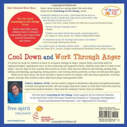 Cool Down and Work Through Anger (Learning to Get Along®): Cheri J ...