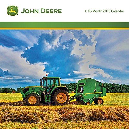Free 2016 Monthly Mini Wall Calendar - John Deere