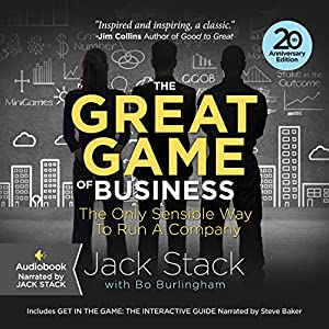 The Great Game of Business, Expanded and Updated Audiobook