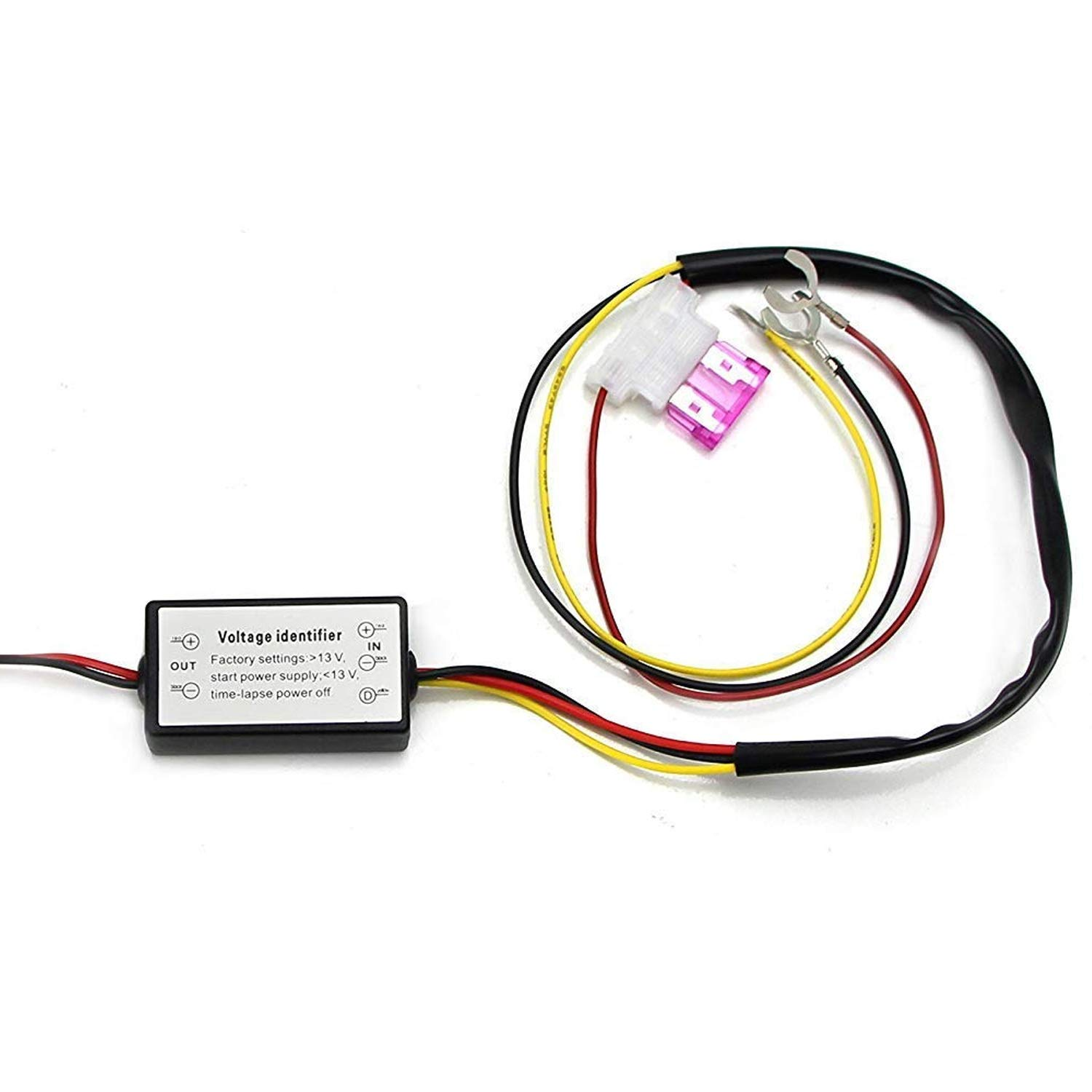 Ijdmtoy 1 Led Daytime Running Light Automatic On Off Drl Switch Back Wiring Controller Module Box Enable Turn When Engine Starts Automotive