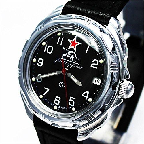 Vostok KOMANDIRSKIE Militar ruso reloj Comandante de tanque Ministerio caso 2414/211306: Amazon.es: Relojes