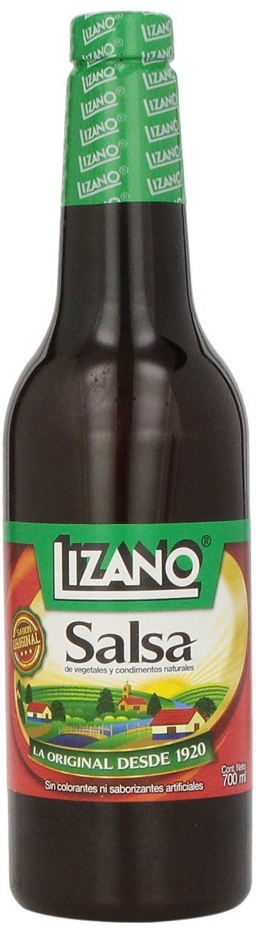 Lizano Salsa Case, 24.7 oz./700 mL, 12 Bottles by Lizano (Image #2)