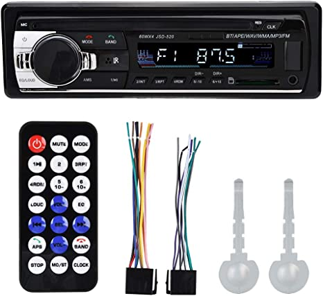SD Card MP3 /& WMA Player Dual Electronics XR4115 Multimedia Detachable Mechless LCD High Resolution Single DIN Car Stereo Receiver with Built-In USB
