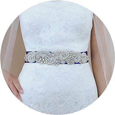 THK-Wedding Floral Wedding Sash Bridal Belt Bridal Sash Wedding Belt for Wedding