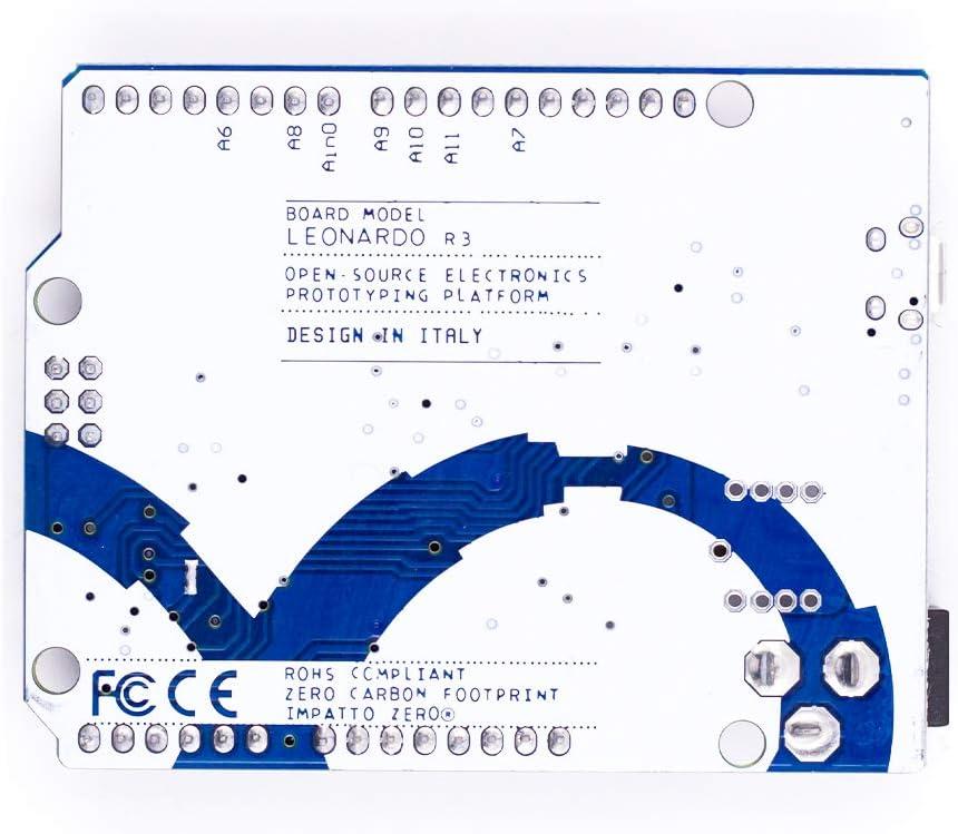 BBOXIM 1PCS Leonardo R3 Microcontroller Atmega32u4 Development Board Without Logo