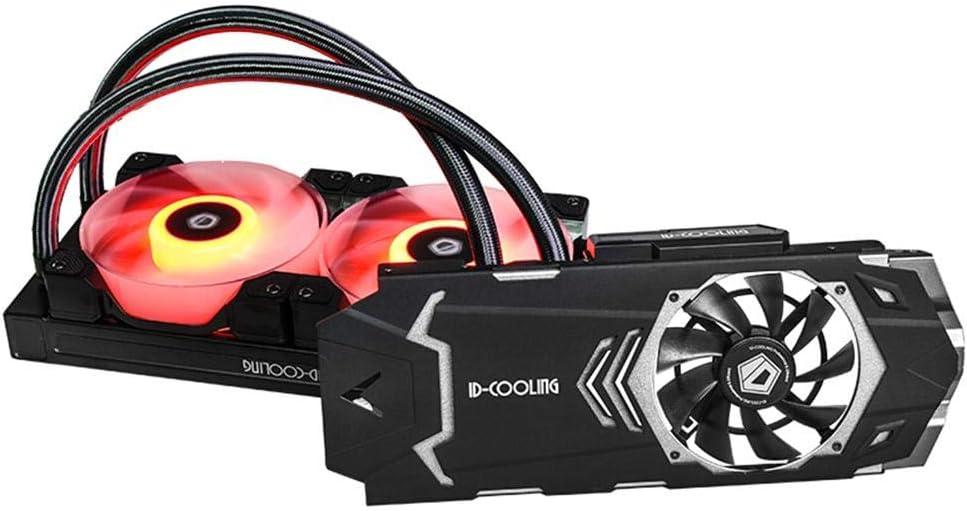 Hillrong ICEKIMO 240VGA-RGB Ventilador de refrigeración de Agua Integrado CPU disipador de Calor con Ventiladores Dobles: Amazon.es: Informática
