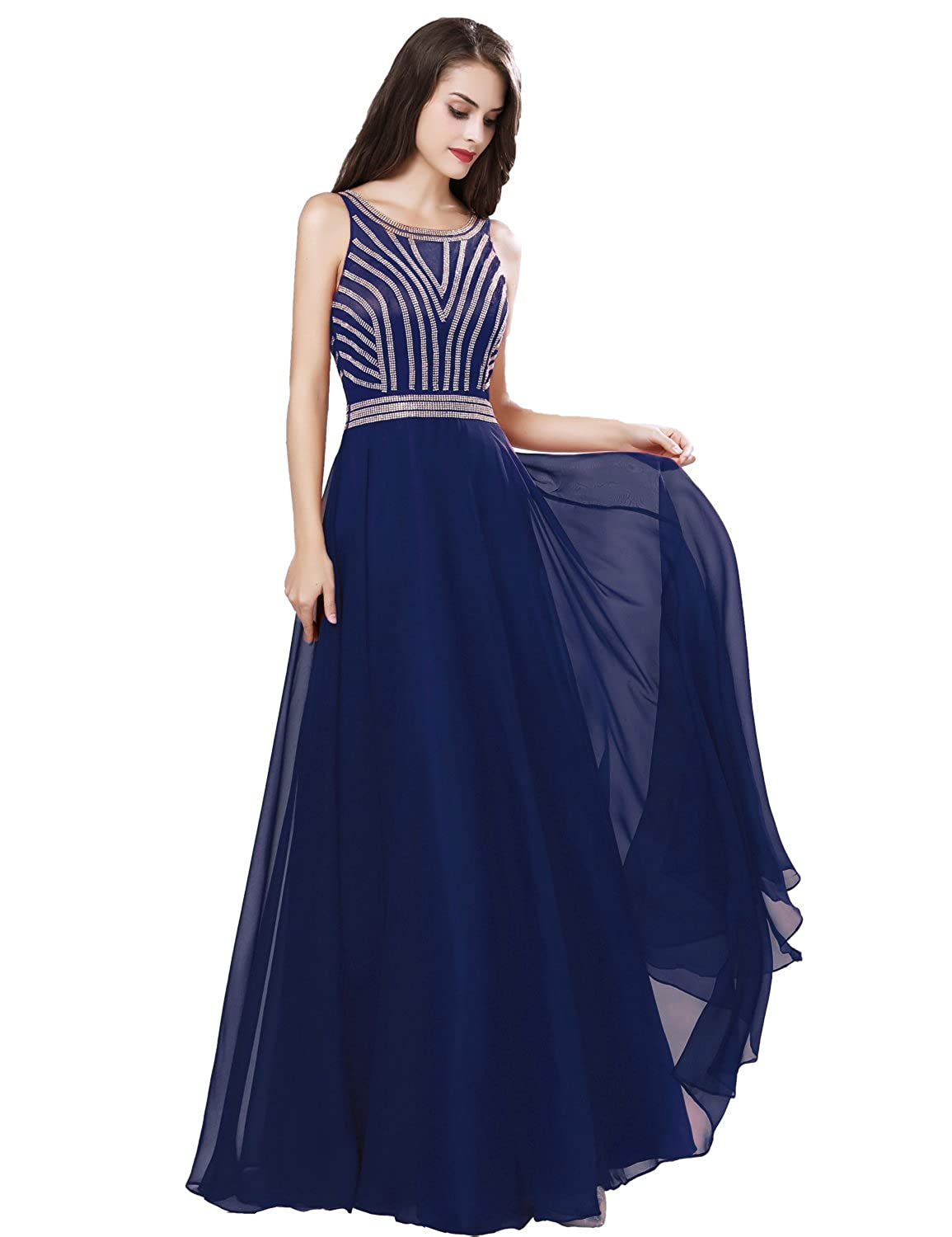 411navy bluee Sarahbridal Womens Lace Prom Dresses Formal Evening Gown with Half Sleeve SD328