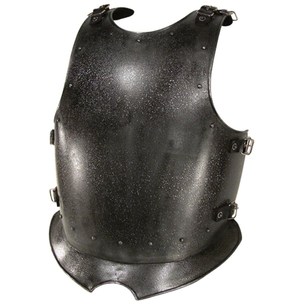NAUTICALMART Armor breastplate Dark Warrior - Epic Dark Large - Grey Armour