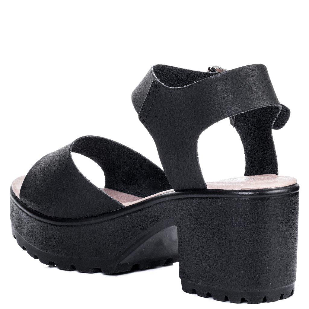 80b6f096a080 Spylovebuy Akira Women s Platform Block Heel Sandals Shoes  Amazon.co.uk   Shoes   Bags