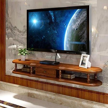 LXYFMS Ledge TV Rack gabinete de Entretenimiento Rack Flotante Pantalla Unidad de Almacenamiento Rack de Rack DVD Rack Caja de Cable Bastidor de enrutador (Color : C): Amazon.es: Hogar