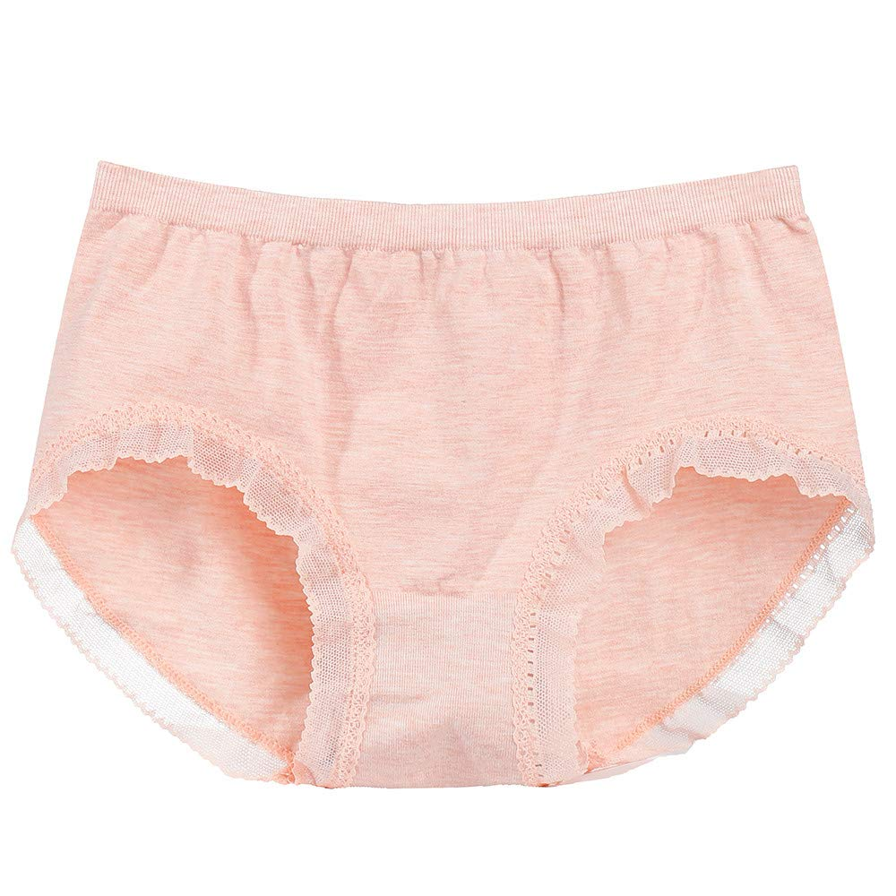 0d99850285f0 Amazon.com: Convinced Underwear Women,lace Lingerie,Women Underwear  Seamless Mid-Rise Briefs Panties KnickersBlue,Free Size: Clothing