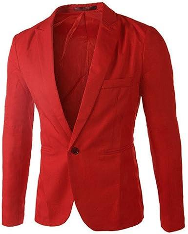 Casual One Formal Button Fit Suit Slim Tops Men Sale Jacket Blazer Coat Business