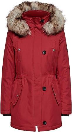 ONLY Damen Onliris Fur Winter Parka Cc OTW Jacke