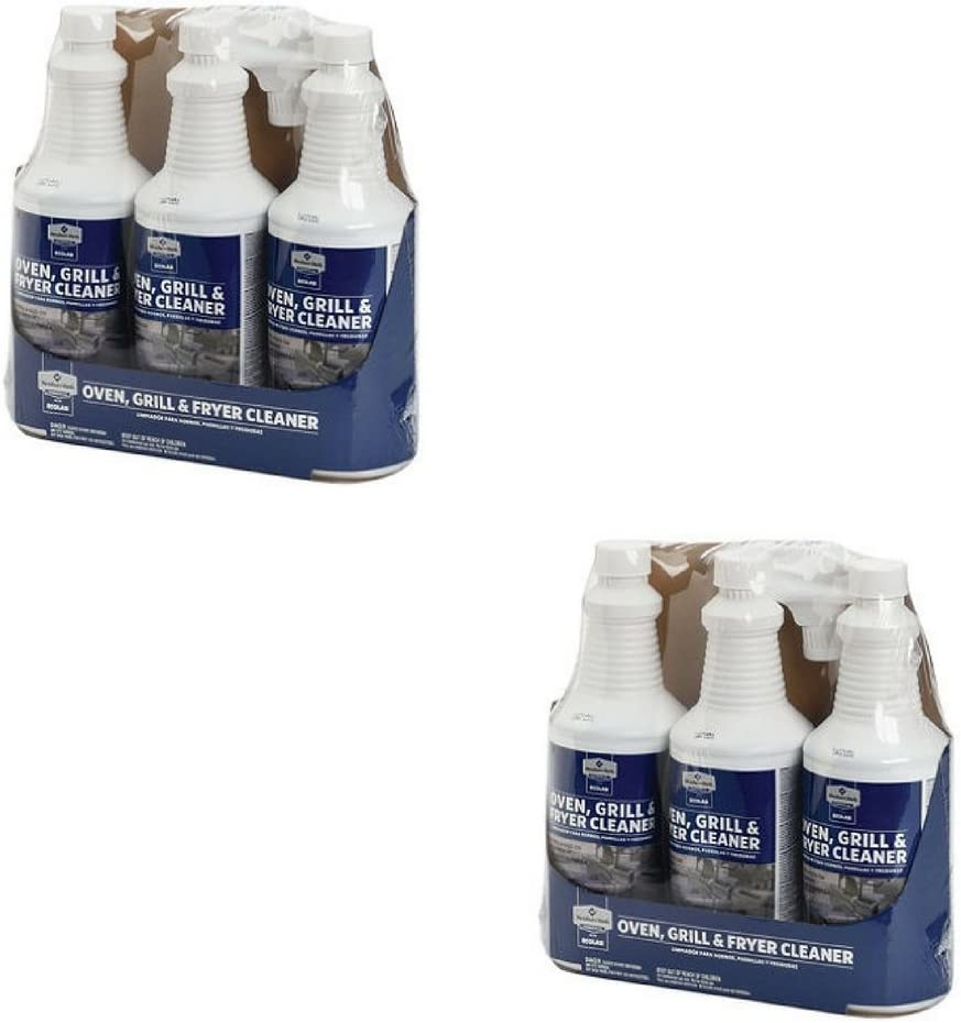 Member's Mark Oven, Grill & Fryer Cleaner - 3 bottles 32 oz each (2 Pack (6 bottles))