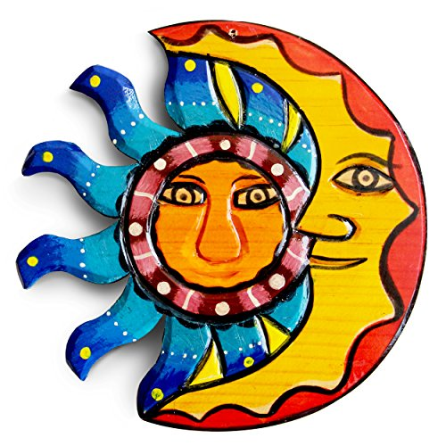 Cheap  Sun and Moon Hangings, Outdoor Wall Art and Wood Decor for Summer..